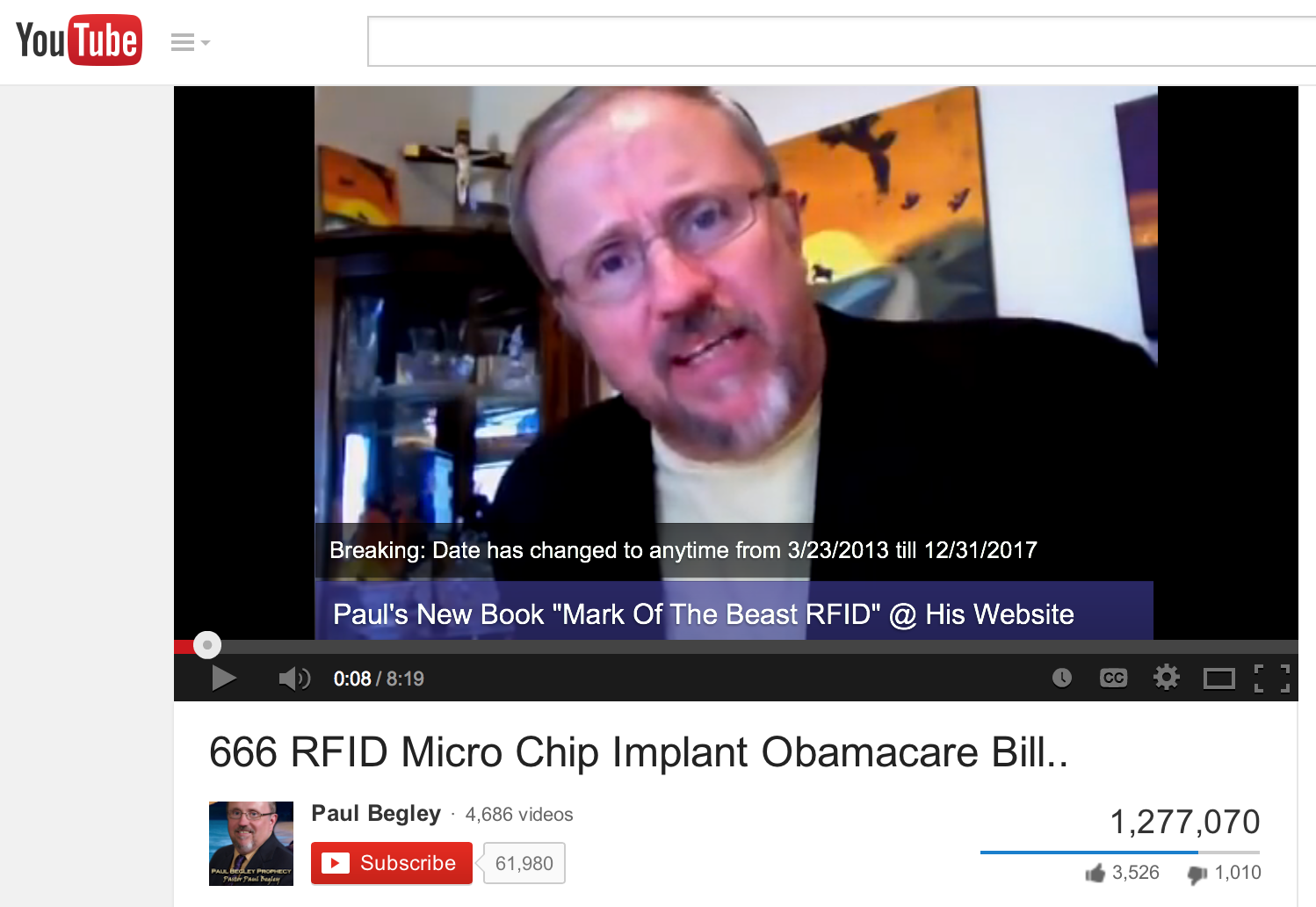 Obamacare and rfid chip